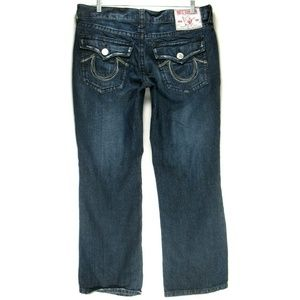 True Religion Billy Big T Flap Pockets Sz 40 x 34